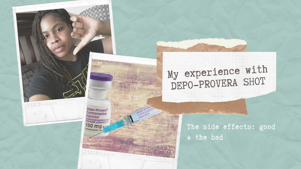 Deposhot Experience | Scary Side Effects (Month 2)  Youtube in Depo Injection 3 Months Chart