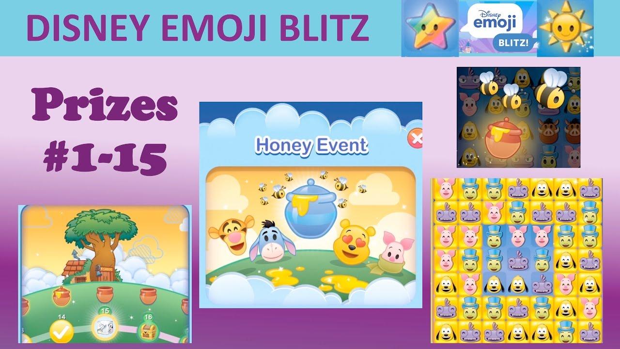 Disney Emoji Blitz Honey Event (Prizes 115)  Youtube for Emoji Blitz Google Calendar