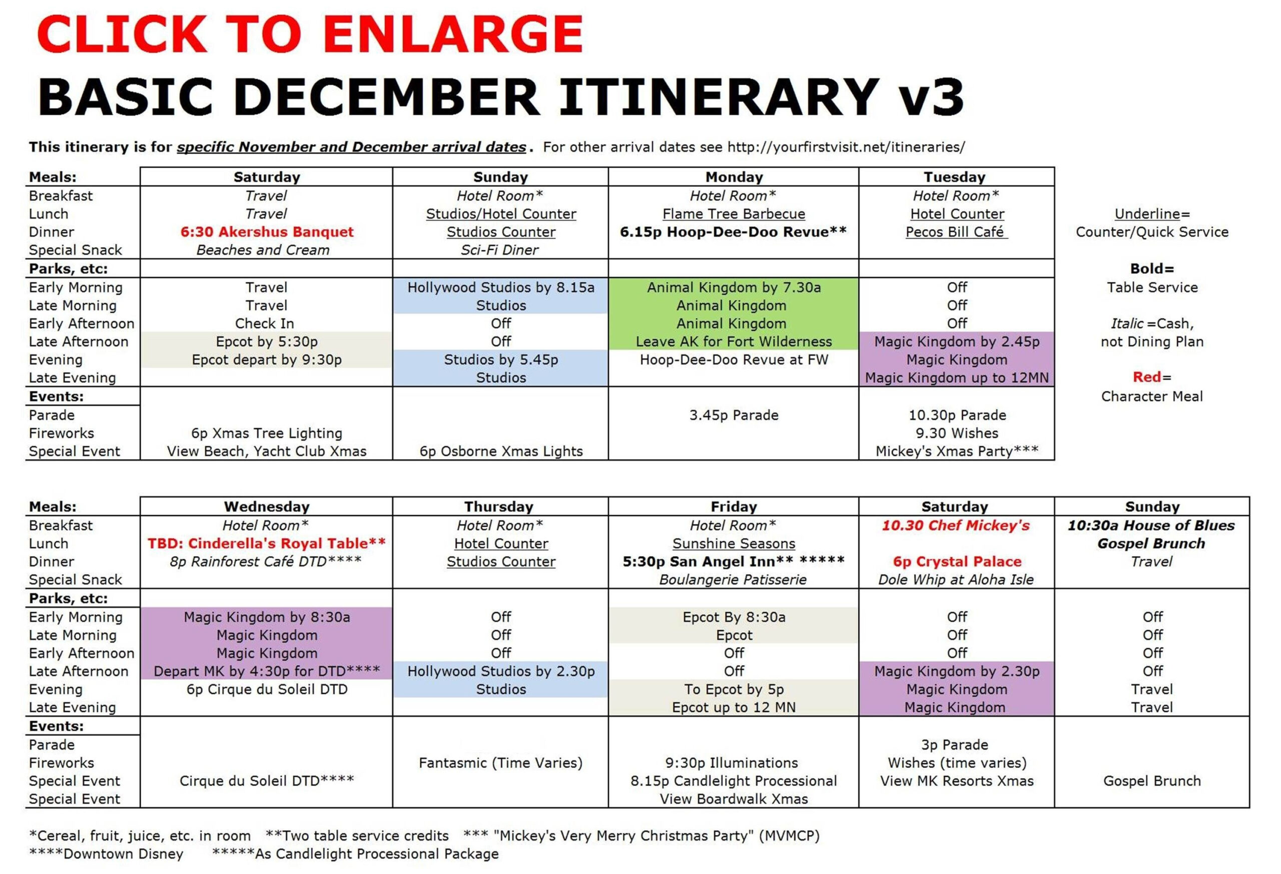 Disney Free Itinerary Template | Calendar Template Printable throughout Disneyland Itinerary Template