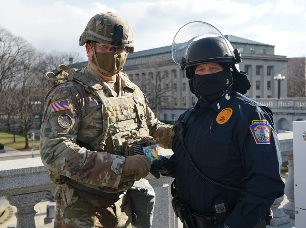Dvids  Images  Pa. National Guard Helps Guard State inside During One Calendar Year A State Trooper