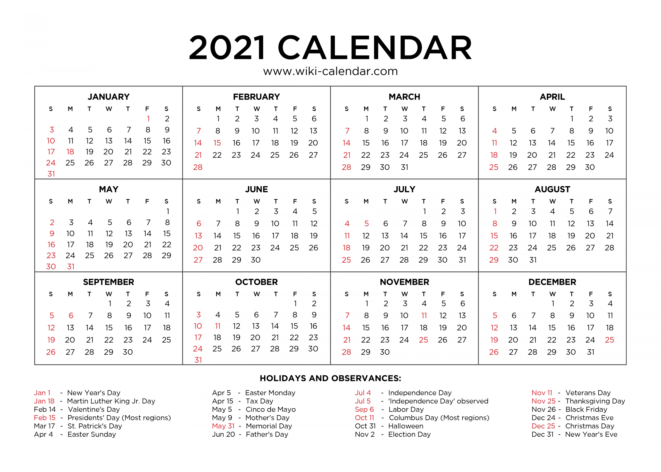 Effective Free Downloadable 2021 Calendar | Get Your regarding Monthly Calendars Free Ruled 2021