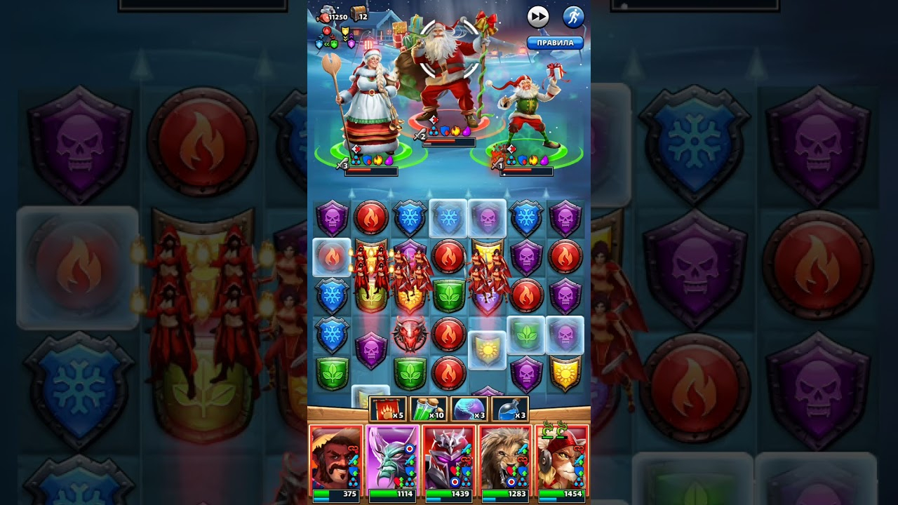 Empires And Puzzles. Santas Event. Final Stage  Youtube regarding Empires And Puzzles Event Schedule