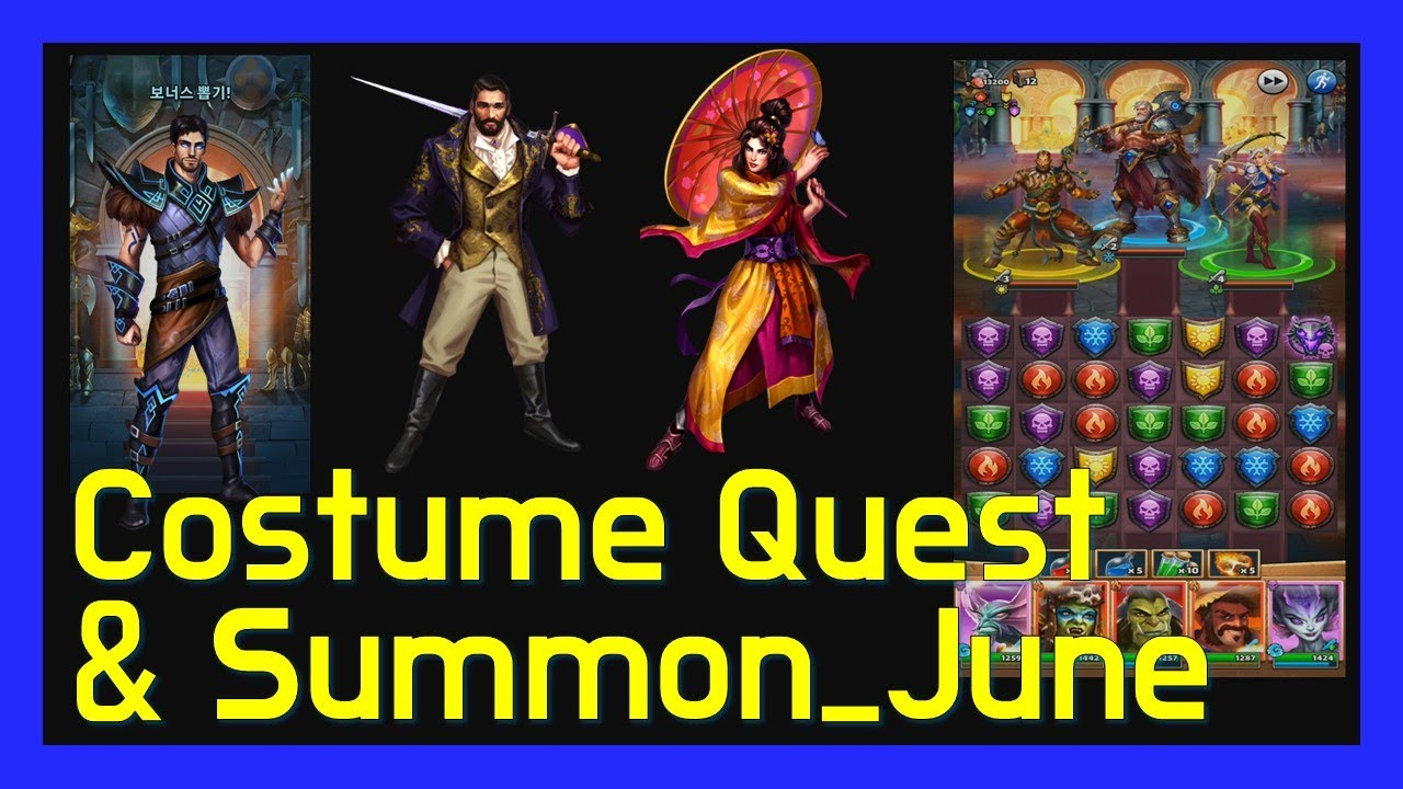 Empires&Puzzles Costume Quest & Summon_June  Youtube regarding June Calendar Empires And Puzzle