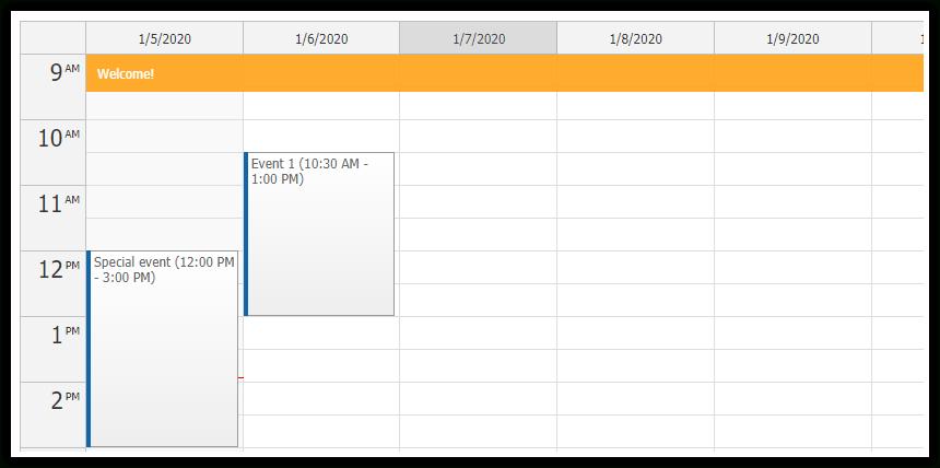 Event Calendar | Daypilot Documentation  Scheduling For Html5Javascriptangularreactaspmvc regarding Net Mvc Calendar