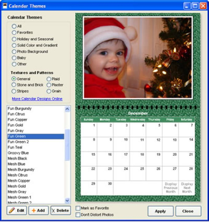 Ez Photo Calendar Creator For Windows Download   Latest pertaining to Win Calendar Creator