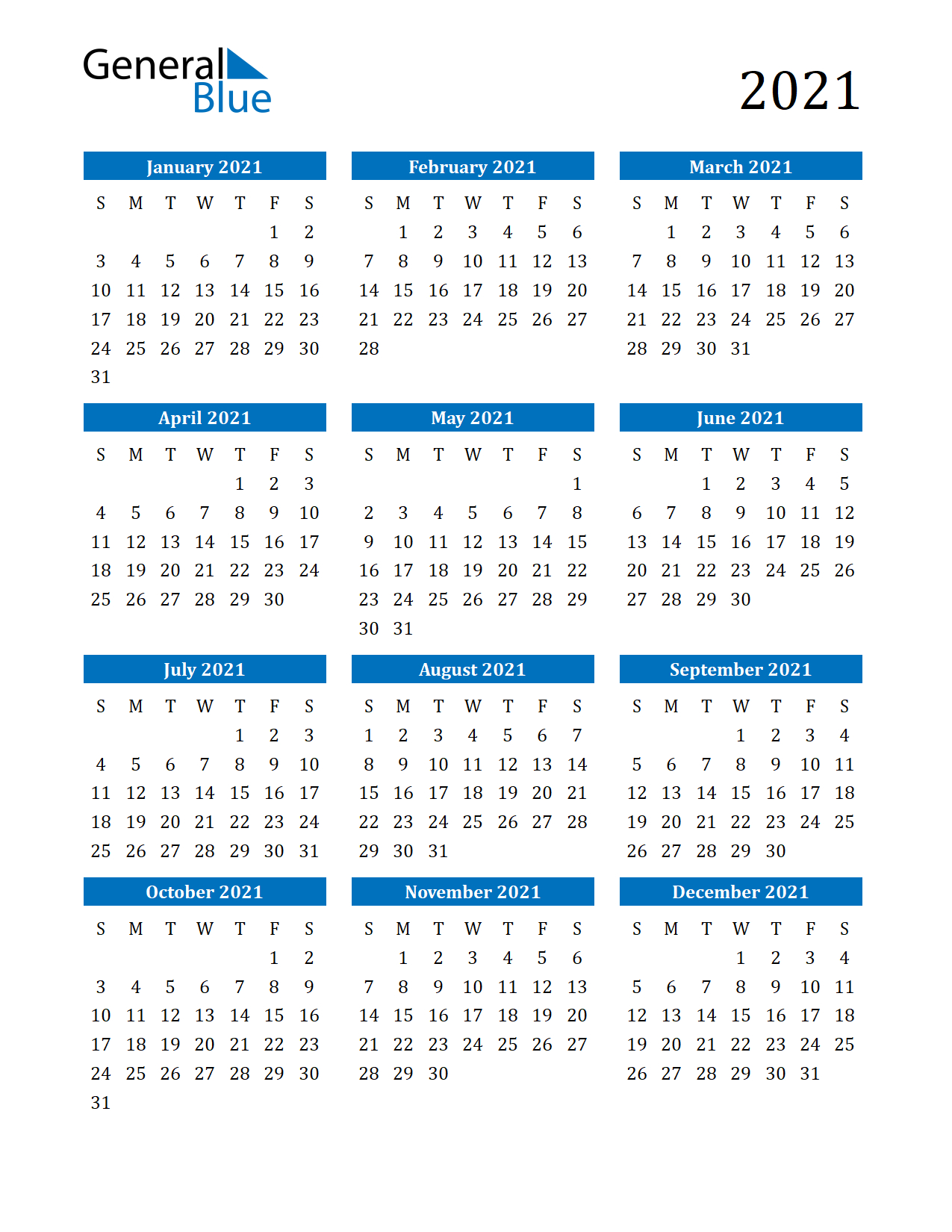 Free Printable 12 Month 2021 Calendar With Lines in 2021 Excel Printable Calendars