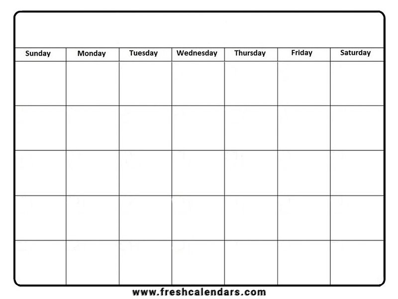 Free Printable Blank Calendar 2020 with June 2021 Printable Monthly Calendar With Lines