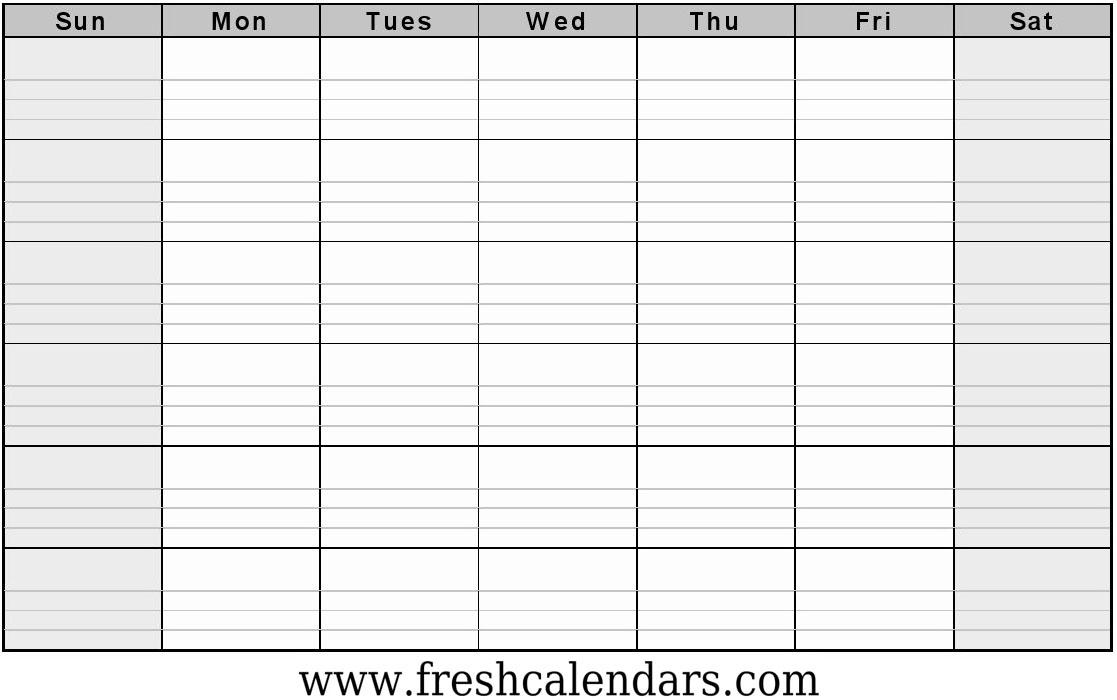 Free Printable Blank Calendar 2020 within Printable Blank Calendar Template