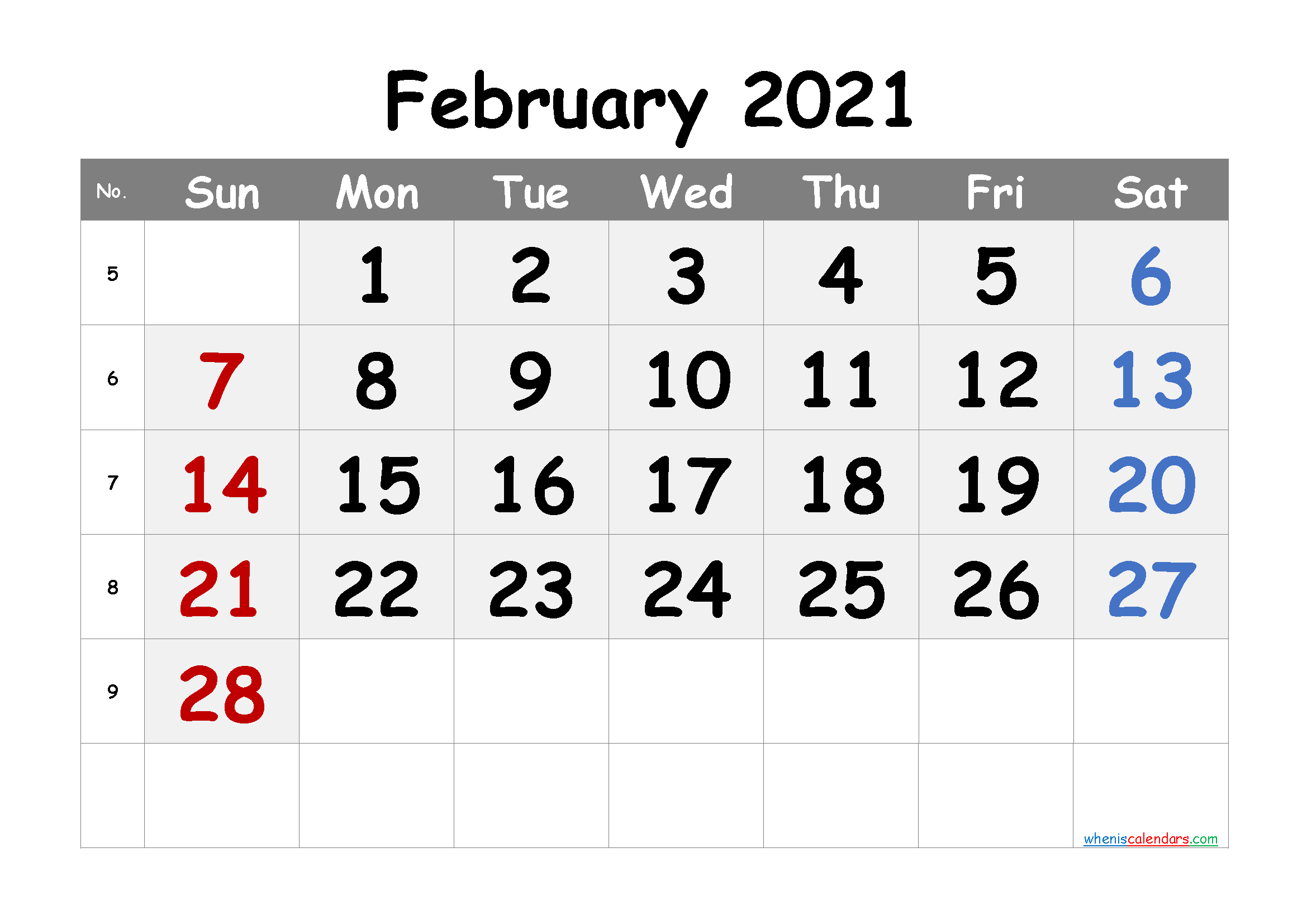 Free Printable Calendar February 2021 2022 And 2023 in 3 Month Calendar 2021 Printable Free