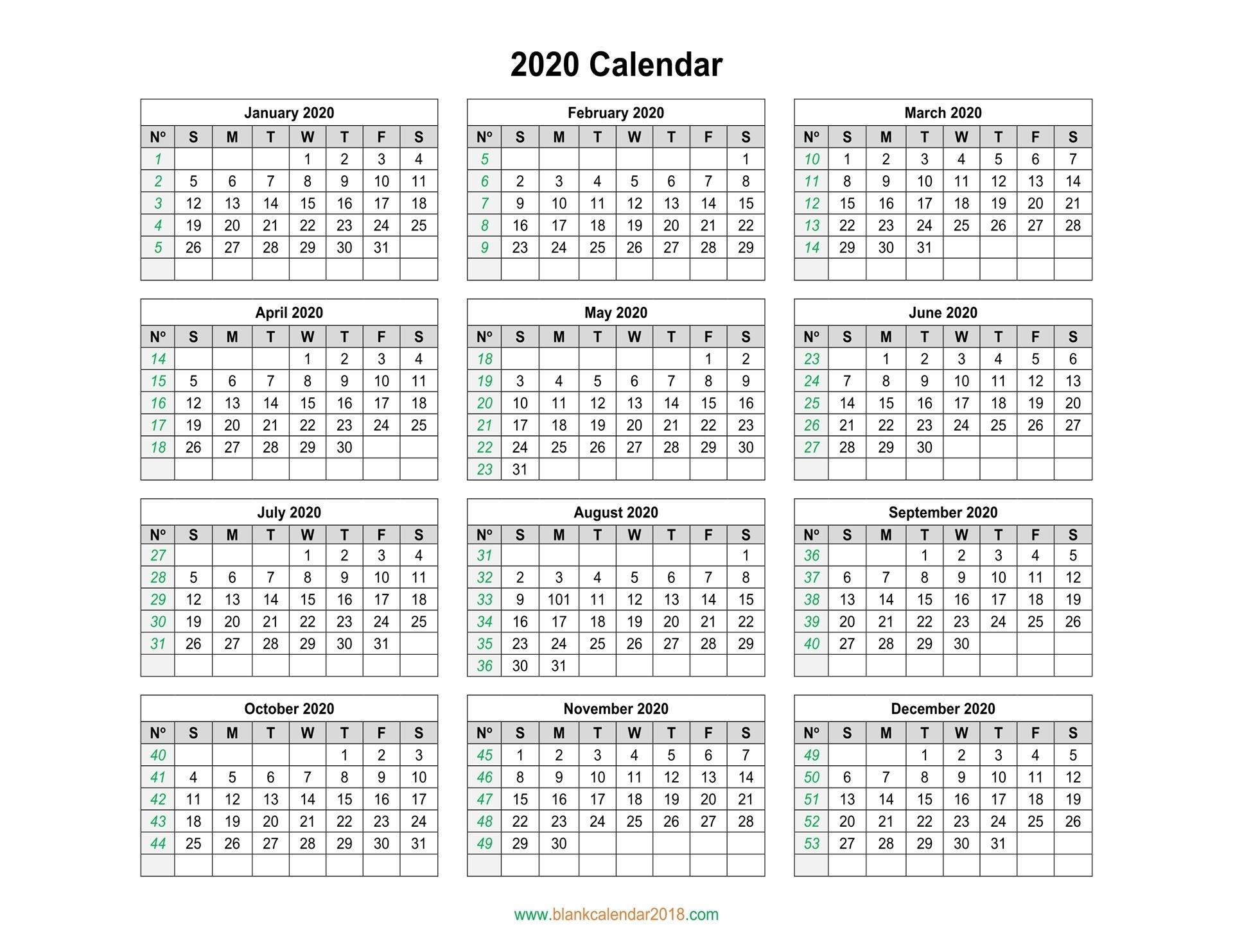 Free Printable Calendar Landscape | Ten Free Printable within Printable Blank Calendar Template
