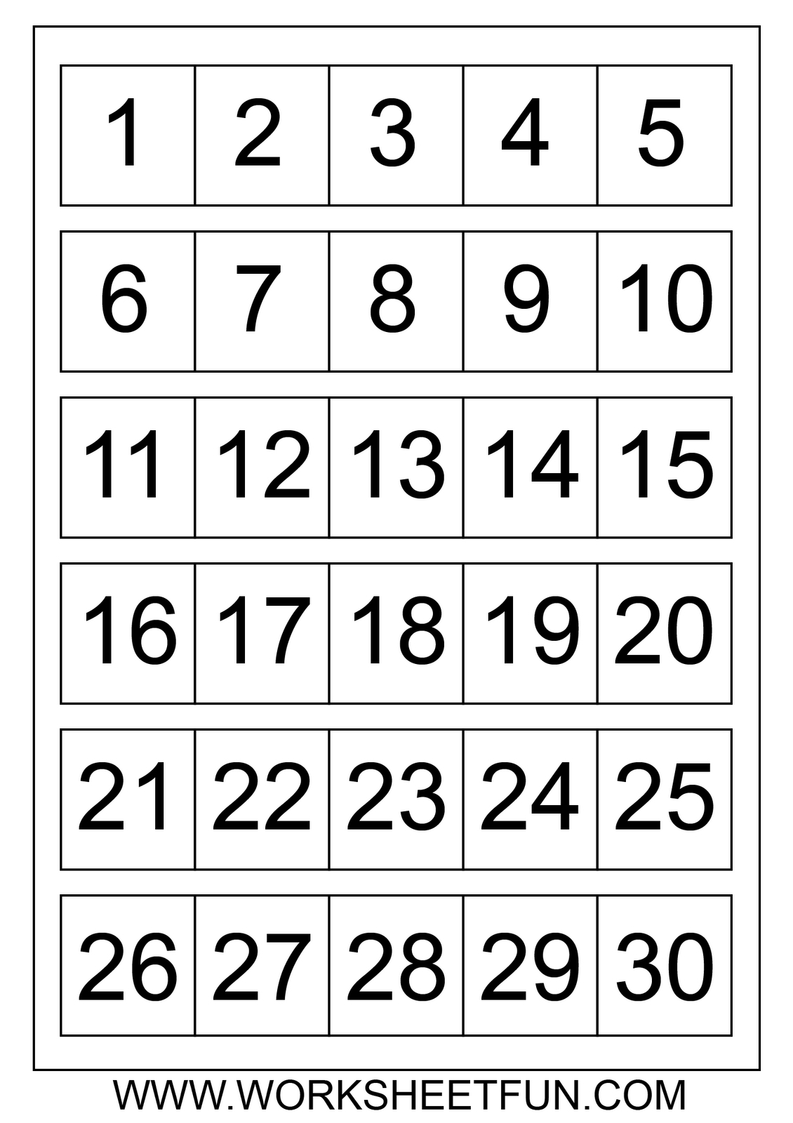 Free Printable Calendar Numbers 131 May | Get Your for Printable Numbers 1-31