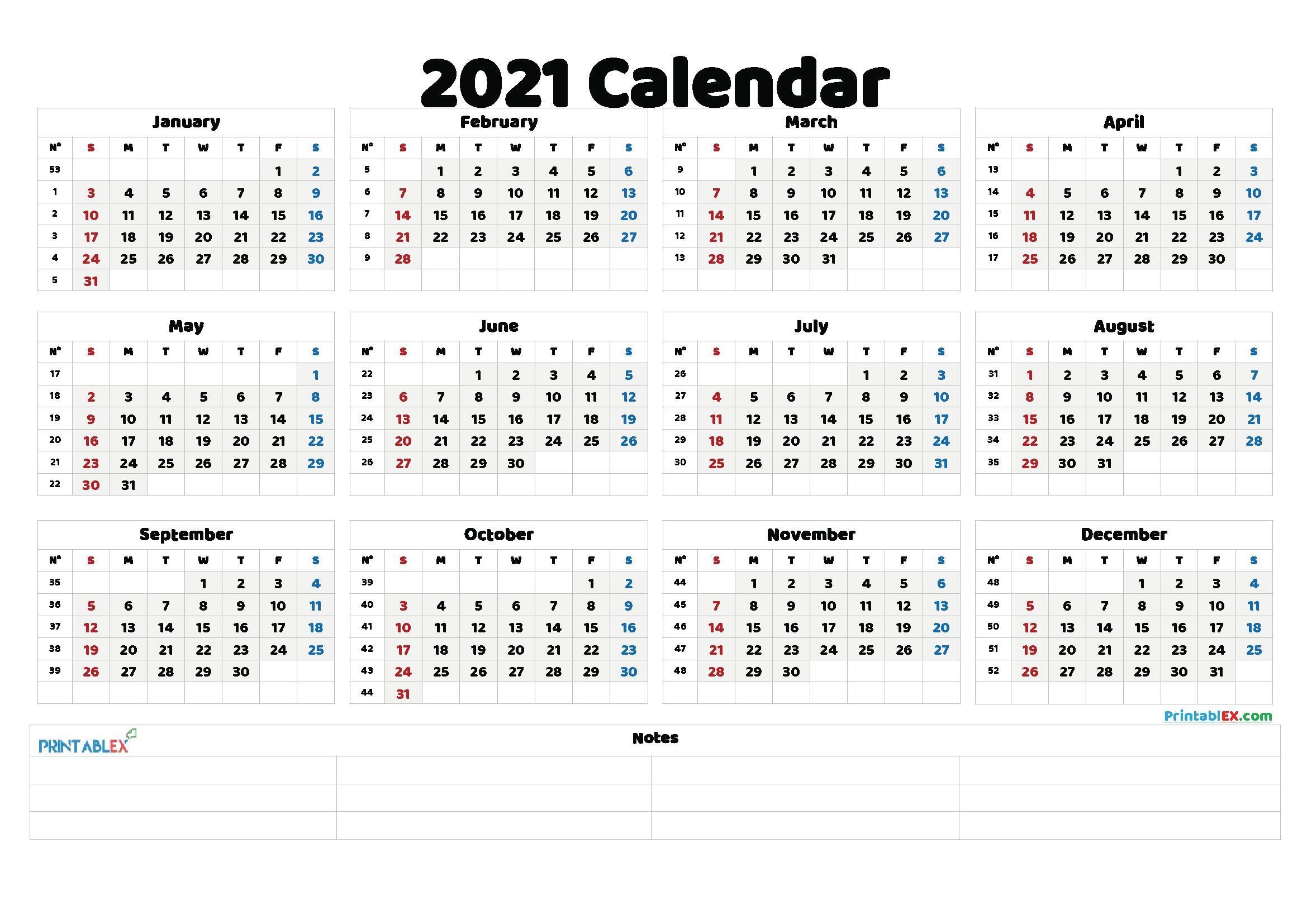 Free Printable Numbers For Calendar | Ten Free Printable for Free Printable Calendars 2021 With Lines