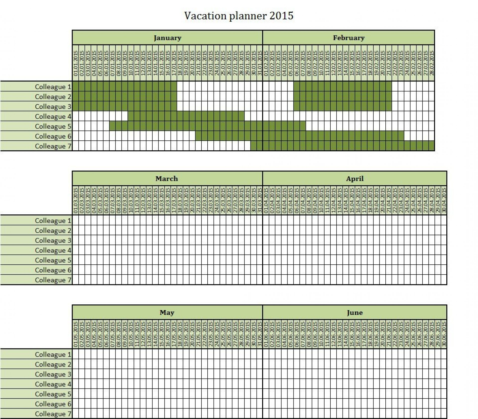 Free Vacation Plan Excel 2021   Calendar Template Printable inside 2021 Pto Calendar Template Excel