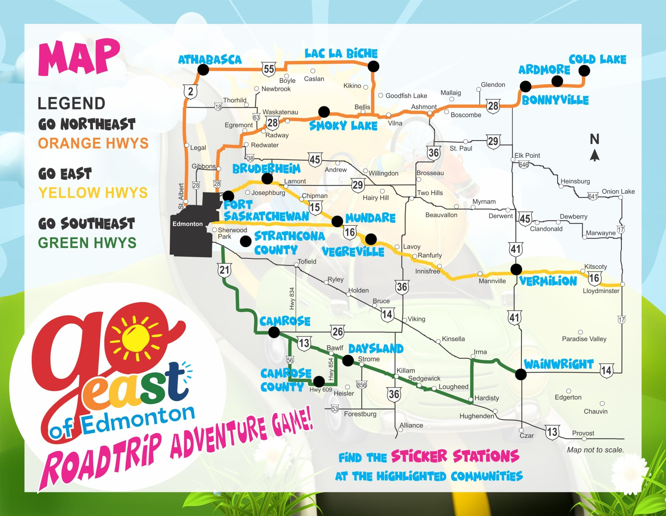 Gee Road Trip Adventure   Go East Of Edmonton with regard to Xyz Is A Calendar-Year Corporation That Began