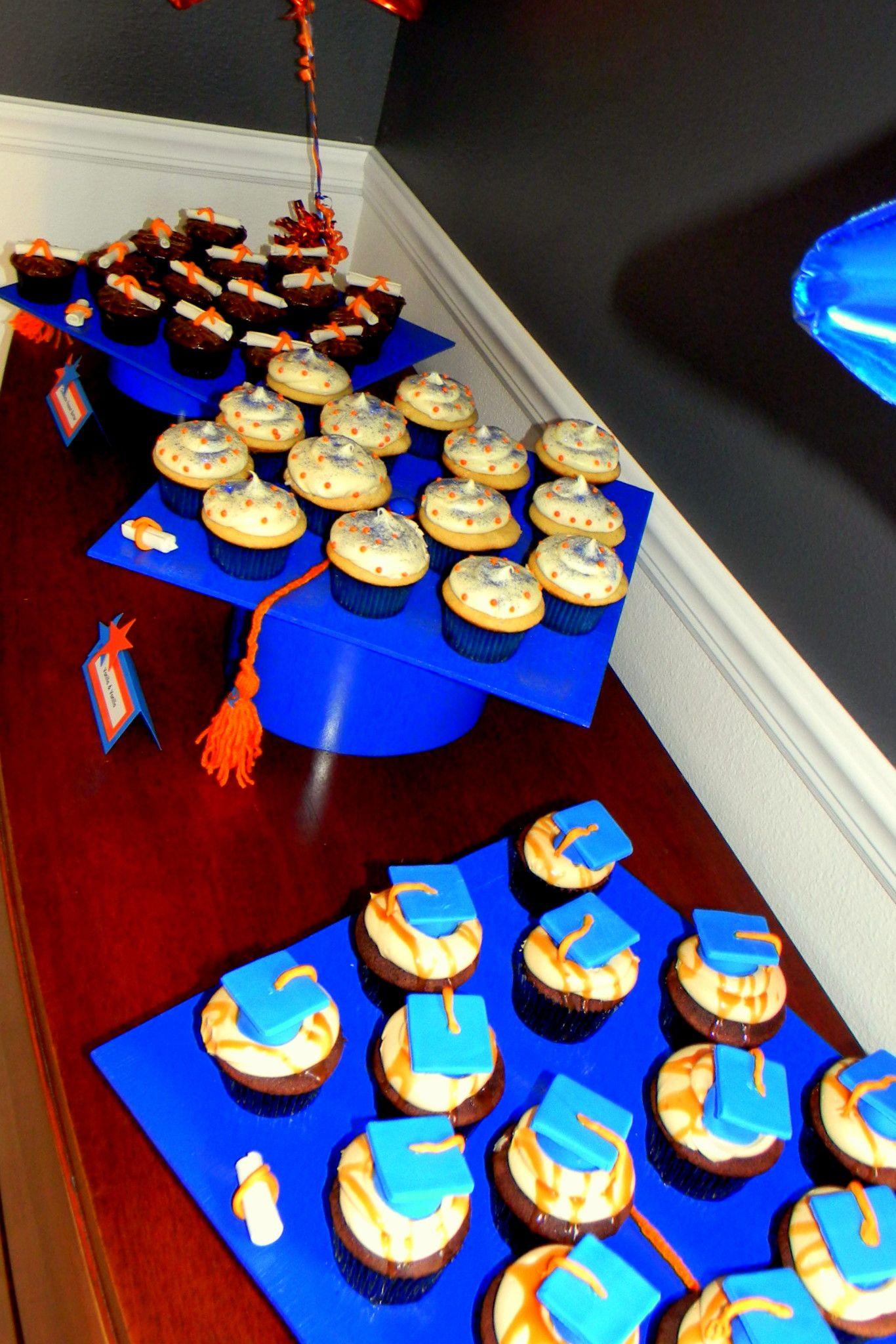 Graduation Cap Cupcake Display Www.sweetycakes inside Cupcake Birthday Display