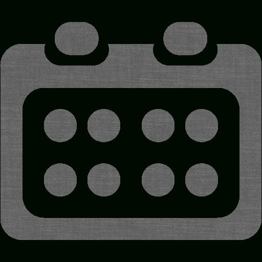 Grey Wall Calendar 4 Icon  Free Grey Wall Calendar Icons with regard to Calendar Icon 16X16