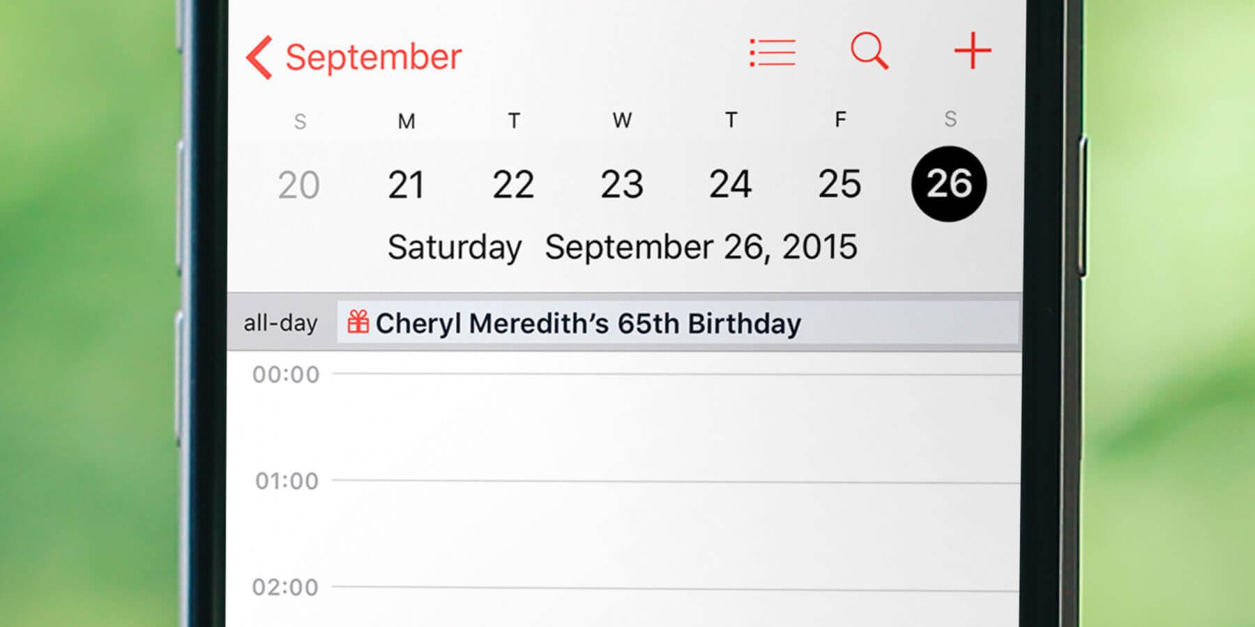 Guide: Show Your Friends' Birthdays In Calendar On Iphone regarding Apple Calendar Icon Generator