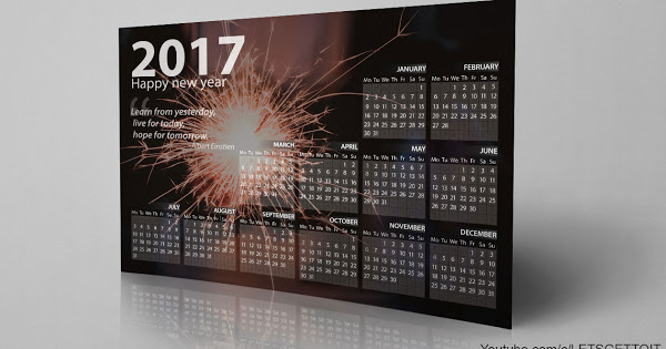 How To Make A Professional Calendar In Photoshop | Dr for Apple Calendar Icon Generator