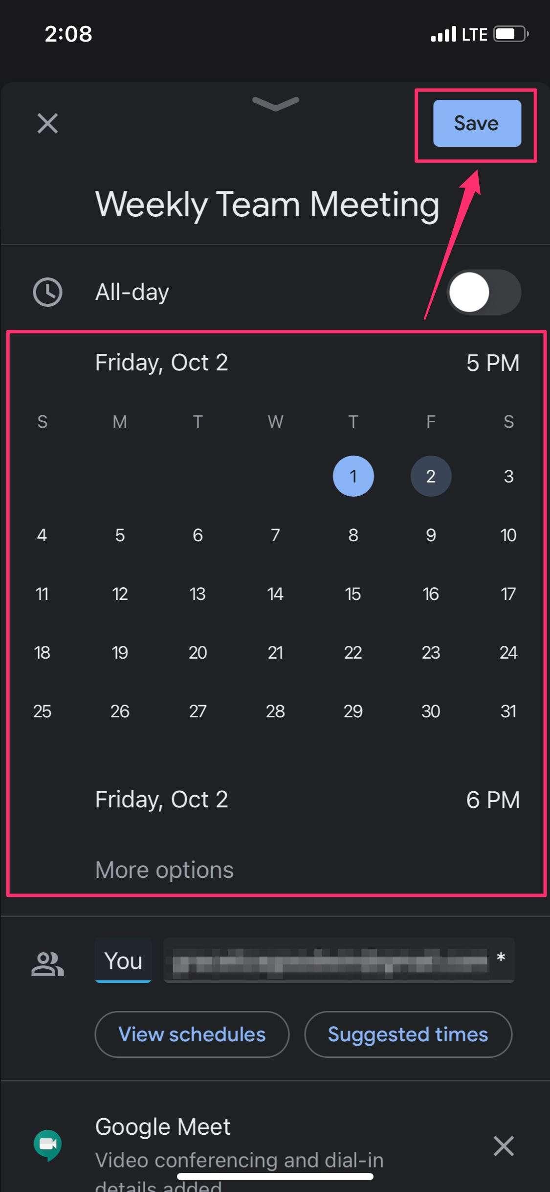 How To Reschedule A Meeting In Your Google Calendar On The regarding Google Calendar Desktop App
