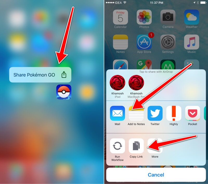 How To Share App Store Links For Your Favorite App With with regard to Mail Icon Missing From Iphone