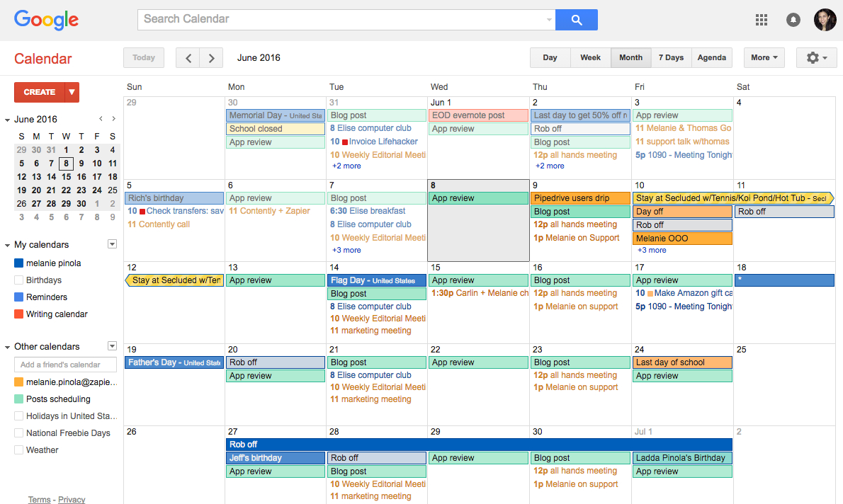 How To Stop Gmail Calendar Spam On Your Android Phone throughout Pto Schadle For Managme To View