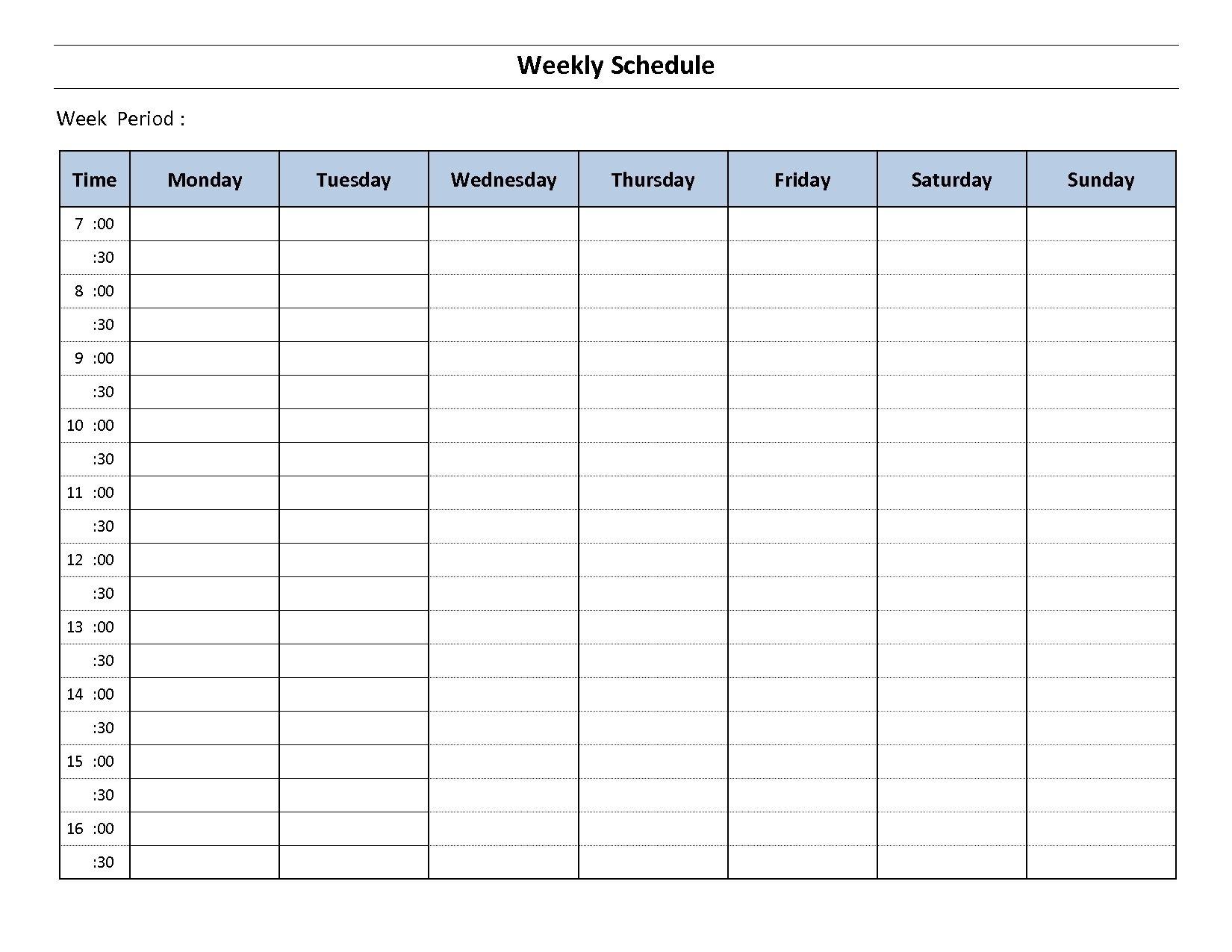 Impressive Monday Through Friday Blank Calendar | Weekly pertaining to Blank Monday Through Friday Calendar