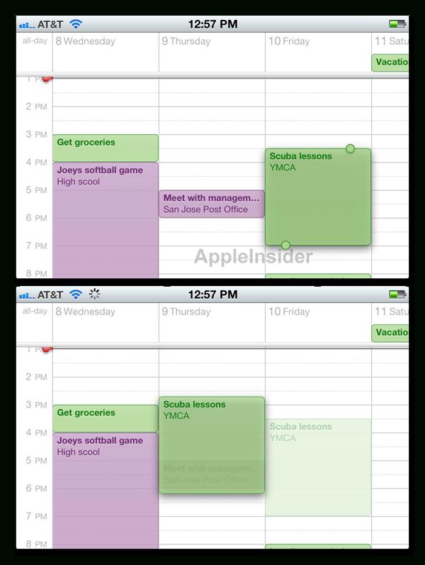 Inside Apple'S Ios 5: Calendar Improvements Help Make inside Calendar Maker For Mac