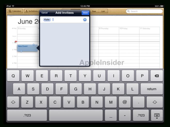 Inside Apple'S Ios 5: Calendar Improvements Help Make intended for Calendar Maker For Mac