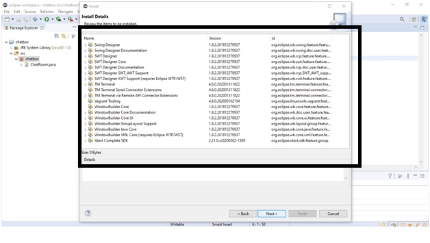Install Window Builder Into Eclipse   Java regarding Java Swing Time Picker
