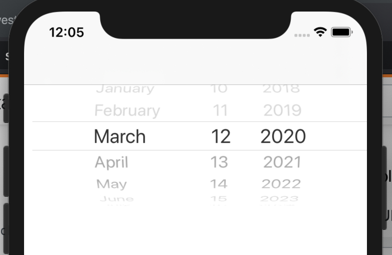Ios  How Can I Set Uidatepicker To Display Dates For throughout Java Swing Time Picker