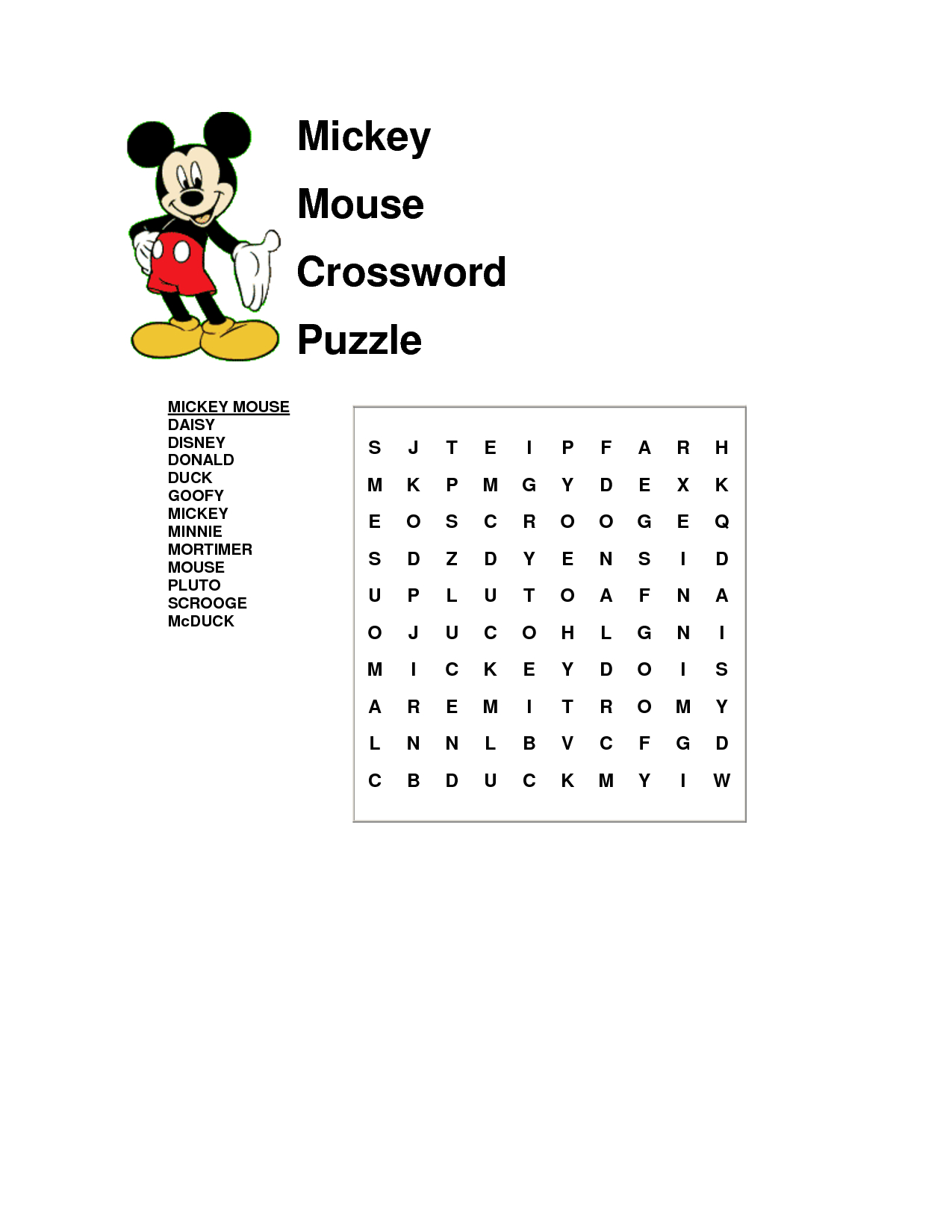 It'S A Word Search Not A Crossword, But Ok   Disney with Disney World Word Search