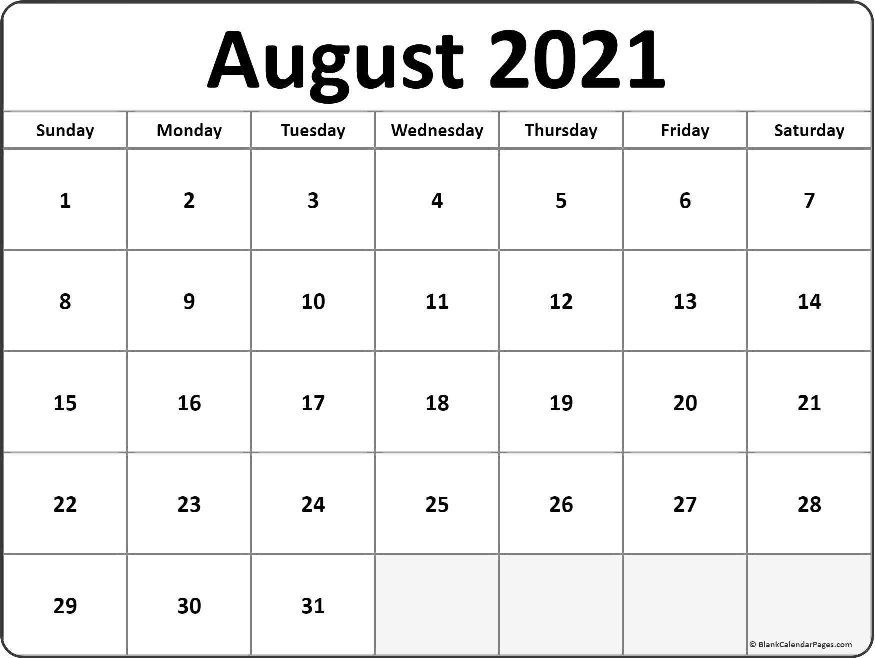 June July Aug 2021 Printable Calanders | Calendar within August 2021 Template Calendar