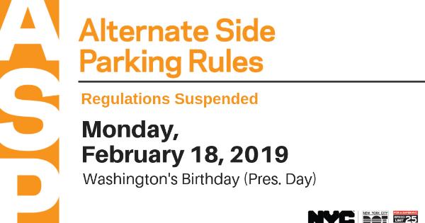 Karmabrooklyn Blog: Alternate Side Parking Suspended On Monday in Alternate Side Parking Suspension 2021