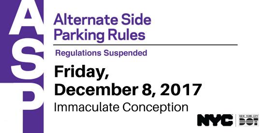 Karmabrooklyn Blog: Alternate Side Parking Suspended On pertaining to Alternate Side Parking Suspension 2021