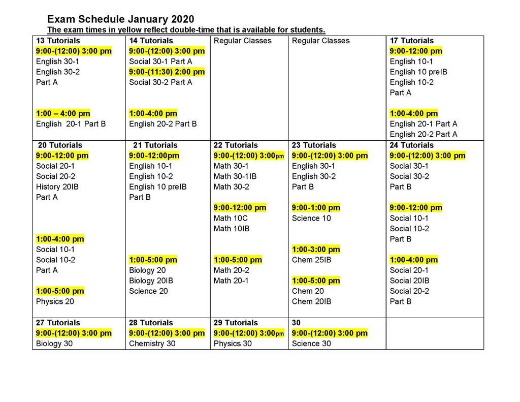 Lester B Pearson Calendar 2020 | Calendar Printables Free with regard to Ocsb School Year Calendar