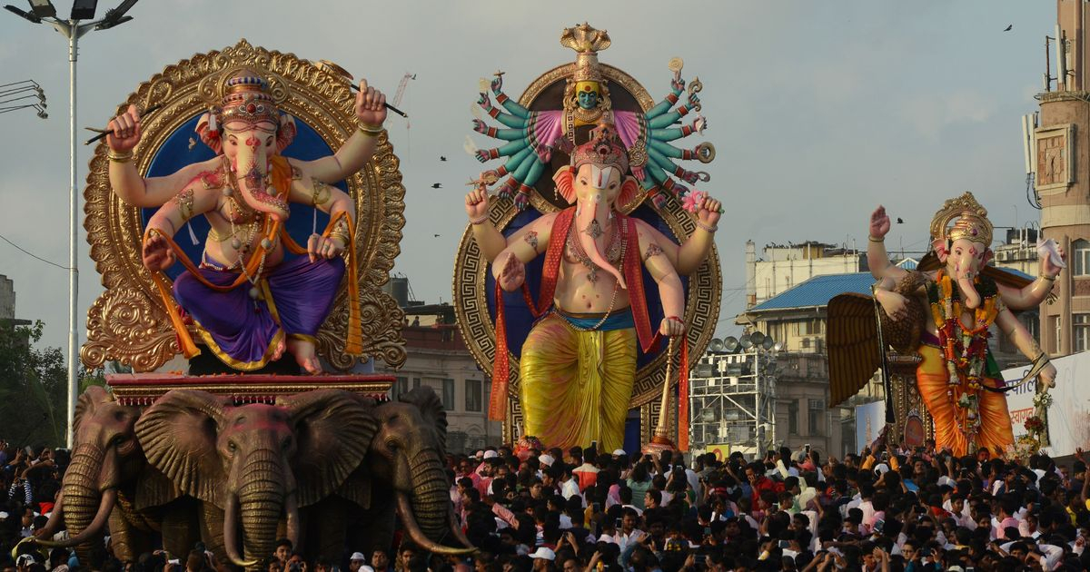 Maharashtra: 12 Died During Ganesh Visarjan Processions intended for During One Calendar Year A State Trooper