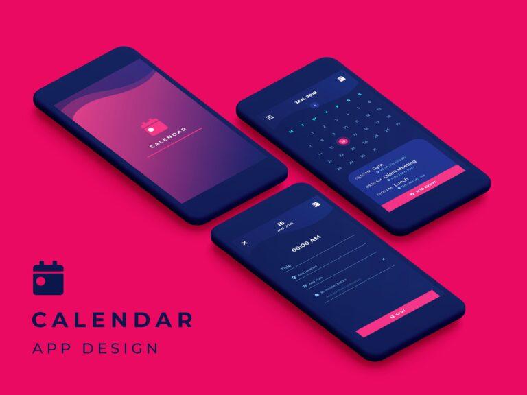 Make A Calendar App  Complete Guide By Phontinent throughout Calendar Maker For Mac