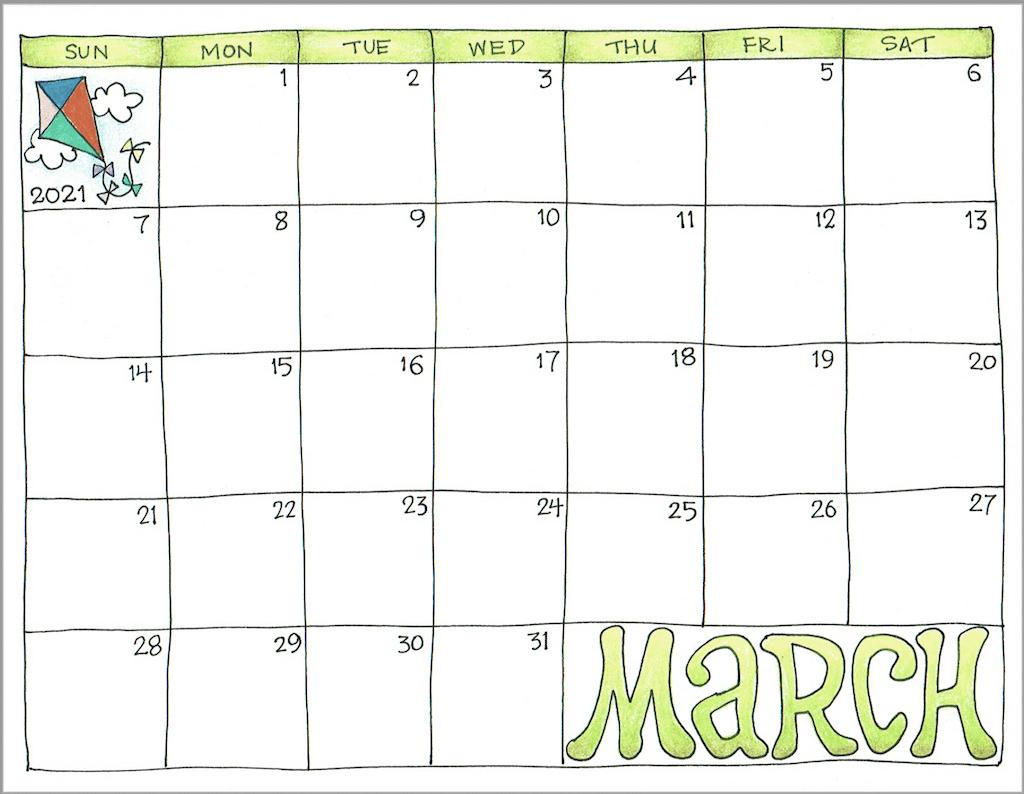 March Printable Calendar 2021 Imom | Free 2021 Printable inside Free Printable Calendars 2021 With Lines