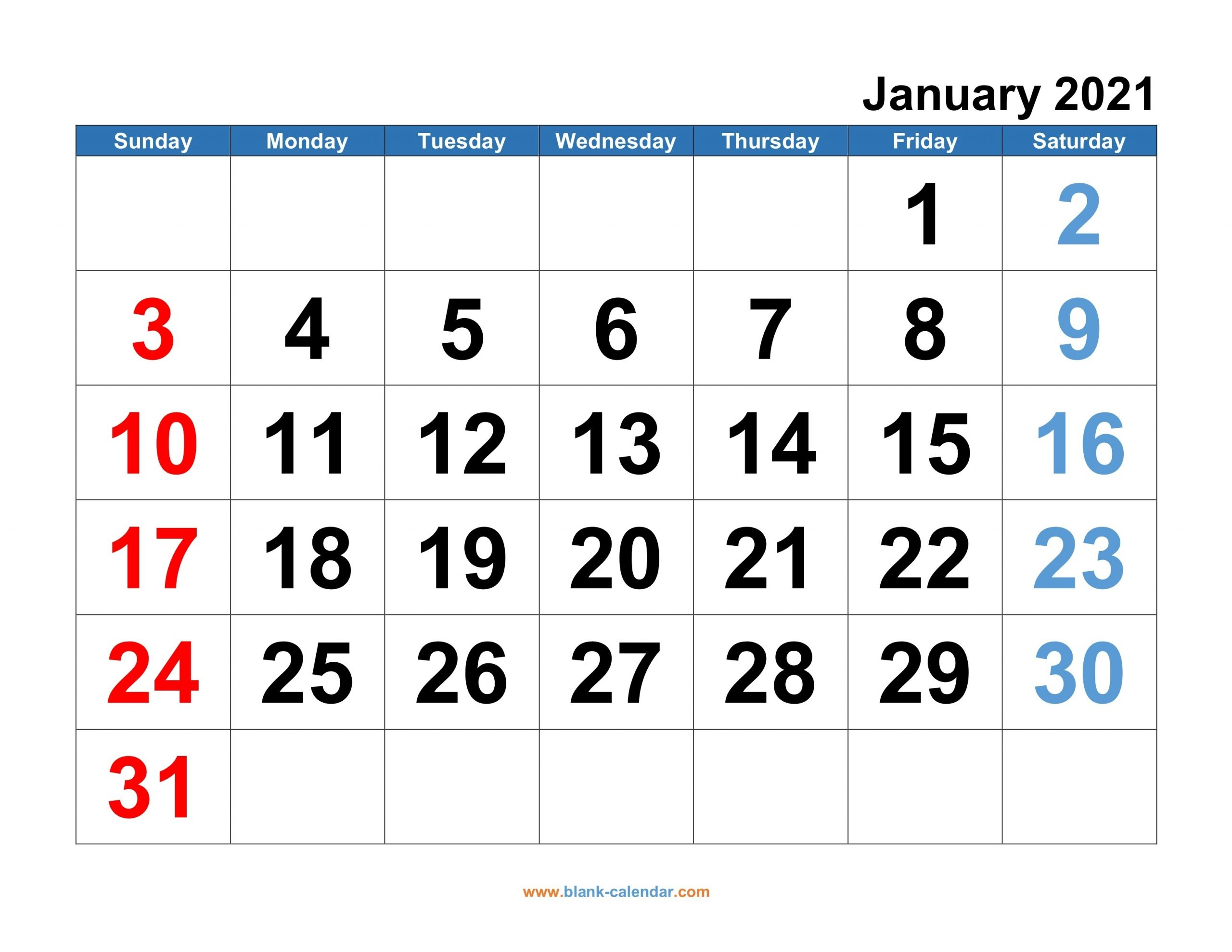 Microsoft Calendar Templates 2021 2 Page Per Month intended for Desktop Calendars 2021 Free Printable