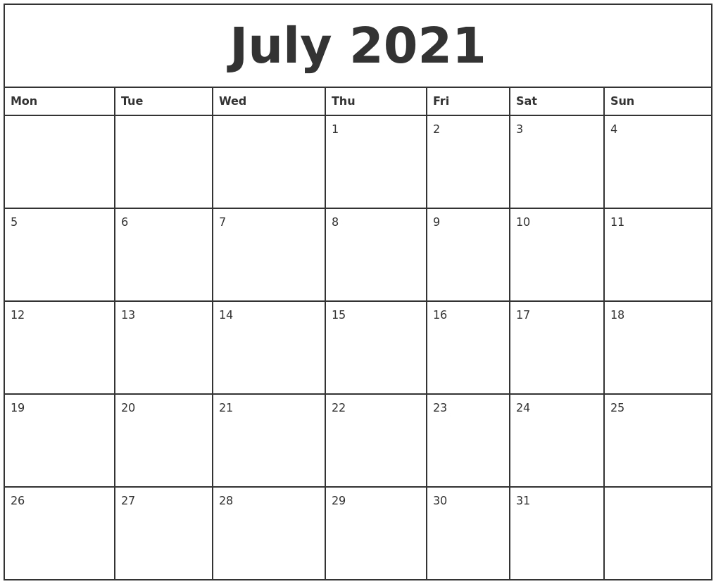 Mon To Sun Calendar June 2021 Print   Printable Calendar with regard to June 2021 Printable Monthly Calendar With Lines