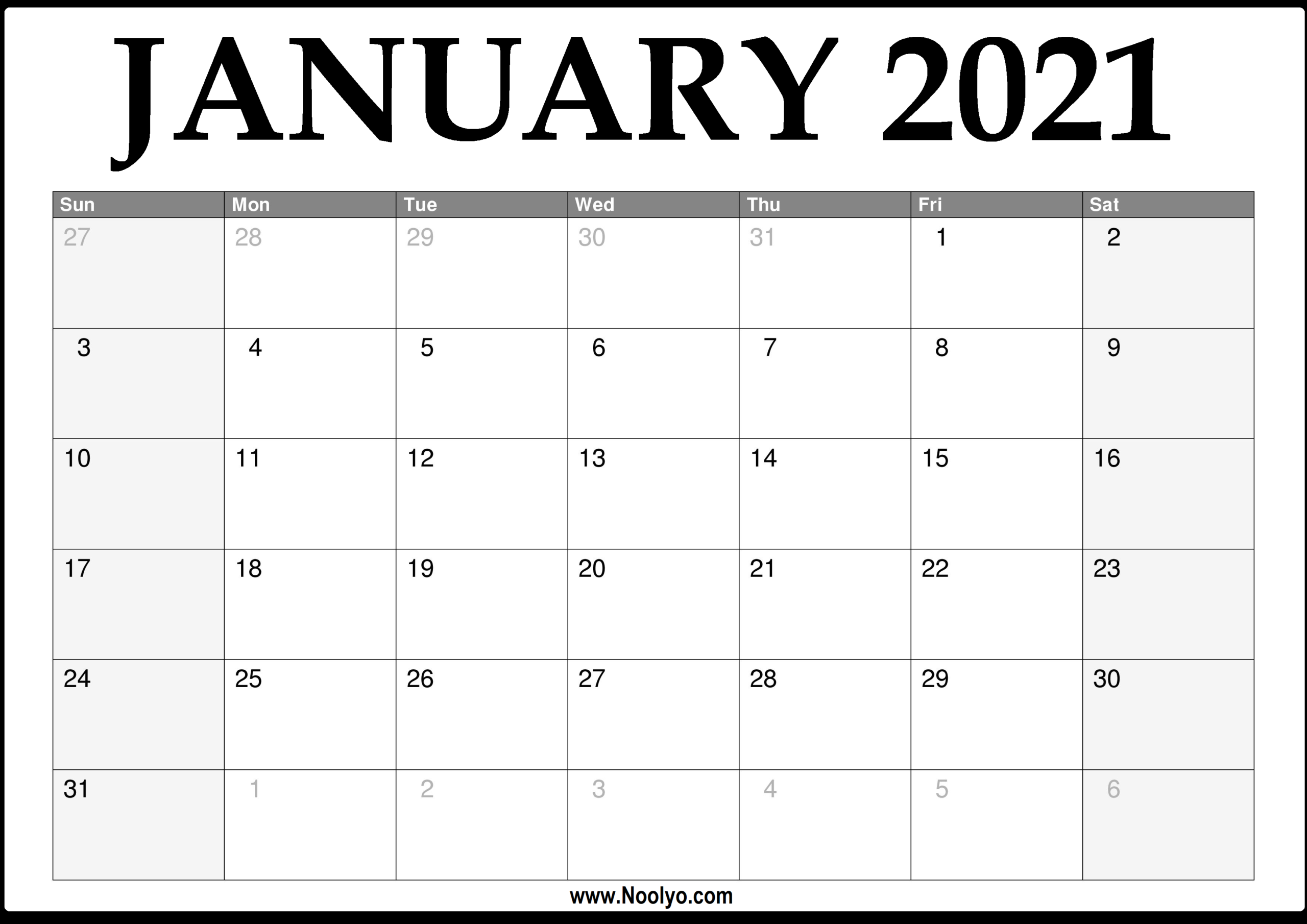 Monthly Calendar January 2021 | Printable March intended for Monthly Calendars Free Ruled 2021