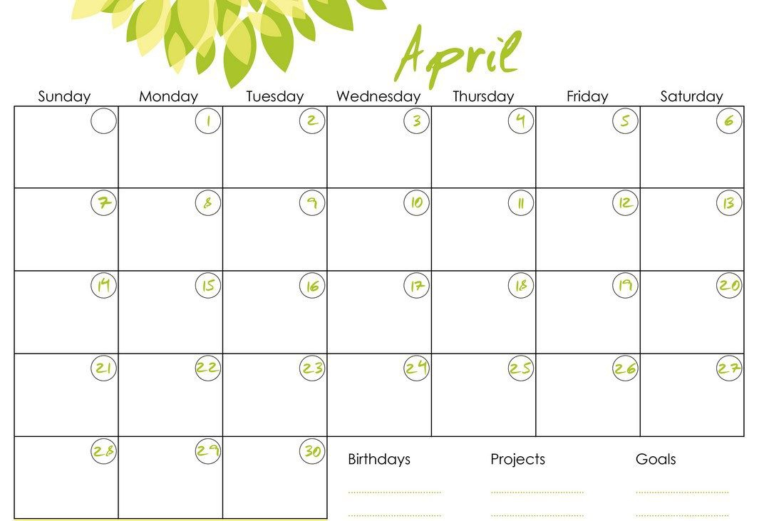 Monthly Calendars To Print And Fill Out 2016 intended for Fill In Calendar