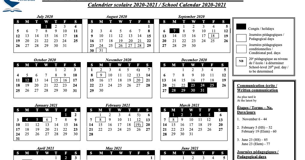 Mrs. Anna Romanini'S Kindergarten: School Board Calendar regarding Ocsb School Year Calendar