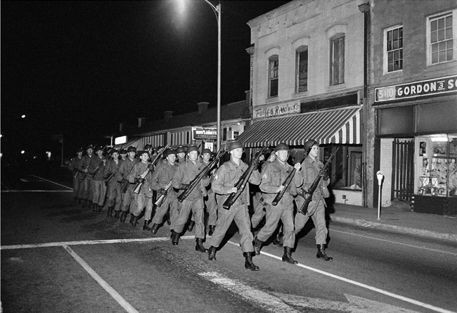On Feb 08, 1968: State Troopers Kill Three Students In for During One Calendar Year A State Trooper