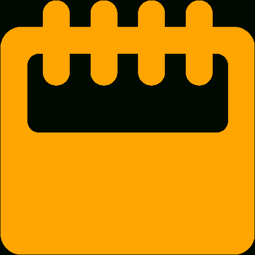 Orange Calendar 11 Icon  Free Orange Calendar Icons throughout Calendar Icon 16X16