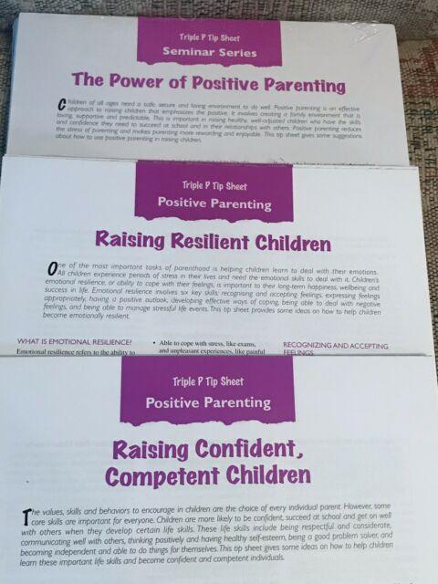 "Parenting Triple P: Positive Parenting"" Triplep Tip Sheet with regard to Triple C School Fees"