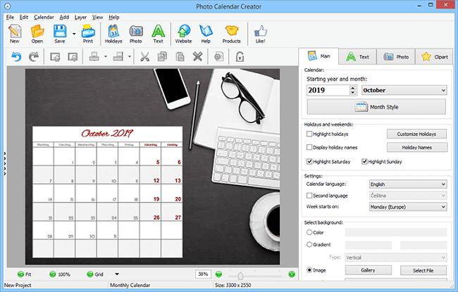 Photo Calendar Software Review: Custom Calendar Maker For for Win Calendar Creator
