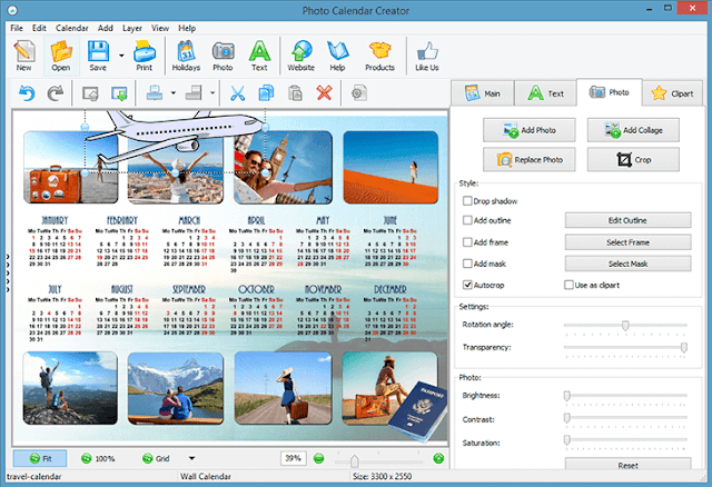 Photo Calendar Software Review: Custom Calendar Maker For throughout Win Calendar Creator