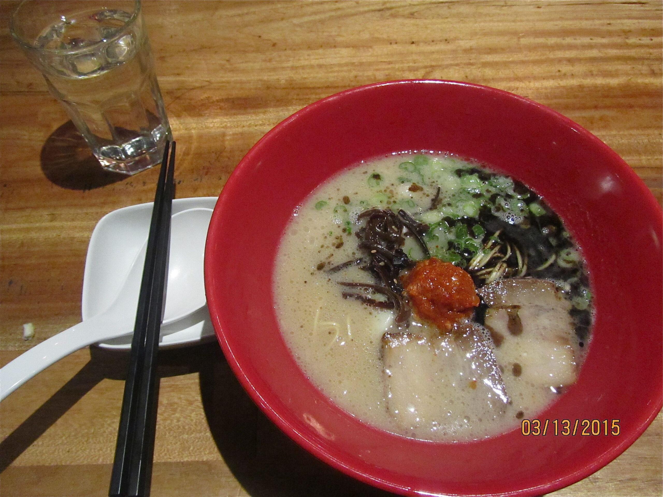 Pin On My Restaurant Reviews throughout Ippudo $10 Ramen