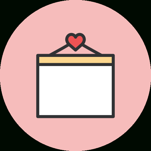 Pink Calendar Icon At Getdrawings | Free Download inside Calendar Icon Material Design